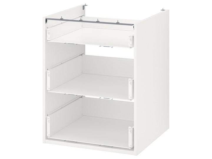 IKEA ENHET Szafka stojąca/3 szuflady, biały, 60x60x75 cm
