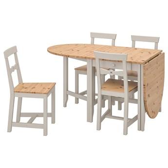 IKEA - GAMLEBY Stół i 4 krzesła