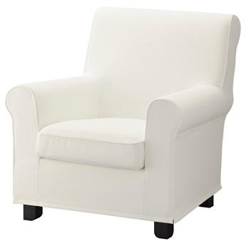 IKEA GRÖNLID Fotel, Inseros biały, Szerokość: 87 cm