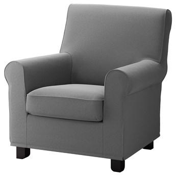 IKEA GRÖNLID Fotel, Ljungen średnioszary, Szerokość: 87 cm