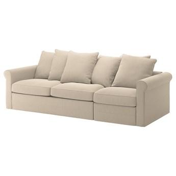 IKEA GRÖNLID Rozkładana sofa 3-osobowa, Sporda naturalny, Wysokość łóżka: 53 cm