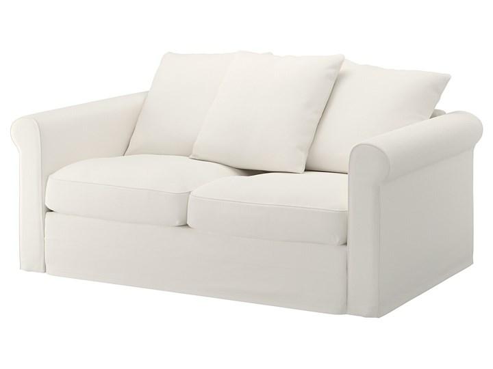 IKEA GRÖNLID Sofa 2-osobowa, Inseros biały, Wysokość z poduchami oparcia: 104 cm Materiał obicia Tkanina Wielkość Dwuosobowa