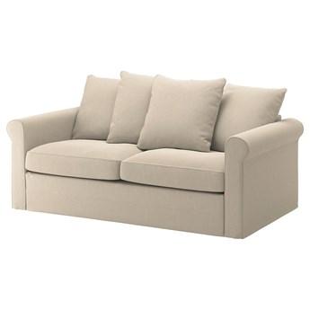 IKEA GRÖNLID Sofa 2-osobowa rozkładana, Sporda naturalny, Wysokość łóżka: 53 cm