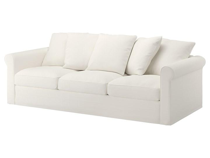 IKEA GRÖNLID Sofa 3-osobowa, Inseros biały, Wysokość z poduchami oparcia: 104 cm Wielkość Trzyosobowa Materiał obicia Tkanina