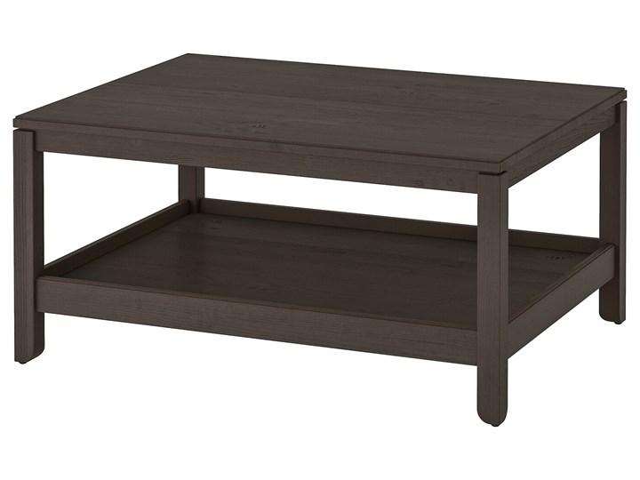 IKEA HAVSTA Stolik kawowy, Ciemnobrązowy, 100x75 cm