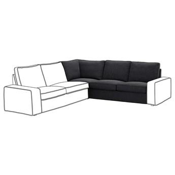 IKEA KIVIK Sekcja narożna, Hillared antracyt, Szerokość: 234 cm