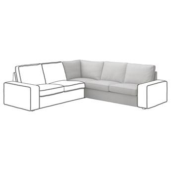 IKEA KIVIK Sekcja narożna, Orrsta jasnoszary, Szerokość: 234 cm
