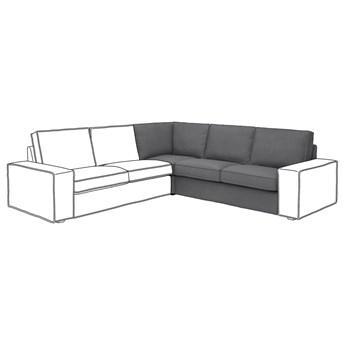 IKEA KIVIK Sekcja narożna, Skiftebo ciemnoszary, Szerokość: 234 cm