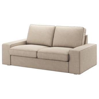 IKEA KIVIK Sofa dwuosobowa, Hillared beżowy, Szerokość: 190 cm