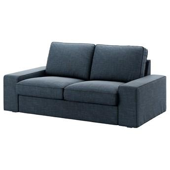 IKEA KIVIK Sofa dwuosobowa, Hillared granatowy, Szerokość: 190 cm