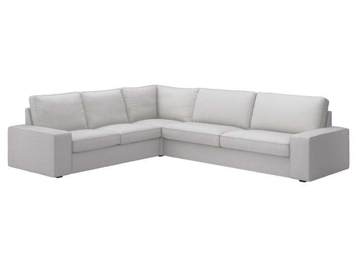 IKEA KIVIK Sofa narożna 5-osobowa, Orrsta jasnoszary, Głębokość: 95 cm