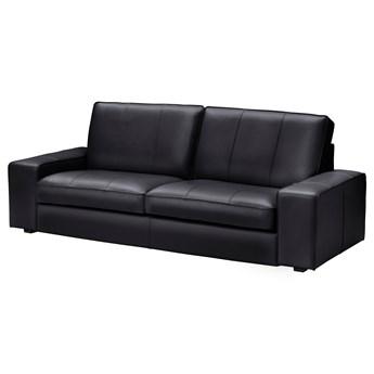 IKEA KIVIK Sofa trzyosobowa, Grann/Bomstad czarny, Szerokość: 227 cm