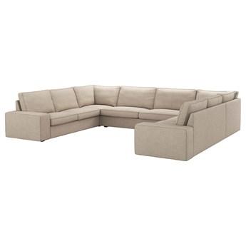 IKEA - KIVIK Sofa w kształcie lit U, 7-osobowa