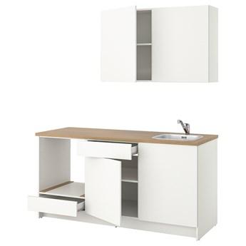 IKEA KNOXHULT Kuchnia, biały, 180x61x220 cm