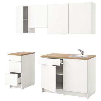 IKEA KNOXHULT Kuchnia, biały, 220x61x220 cm