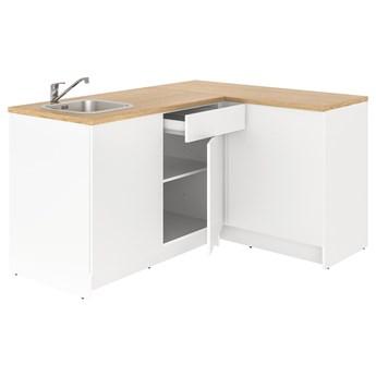 IKEA KNOXHULT Kuchnia narożna, biały, 183x122x91 cm