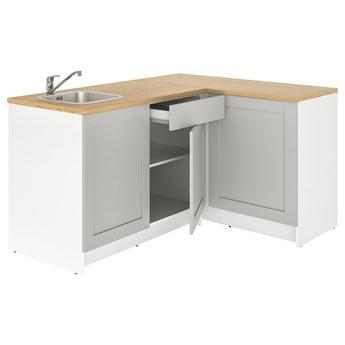 IKEA KNOXHULT Kuchnia narożna, szary, 183x122x91 cm