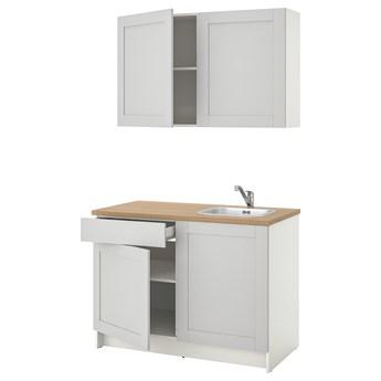 IKEA KNOXHULT Kuchnia, szary, 120x61x220 cm