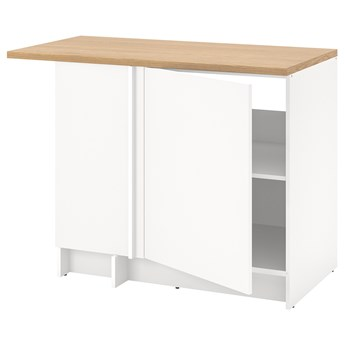 IKEA KNOXHULT Szafka nar, biały, 100x91 cm
