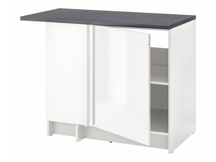 IKEA KNOXHULT Szafka nar, połysk biały, 100x91 cm