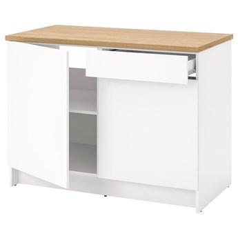 IKEA KNOXHULT Szafka stojąca, drzwi+szuflada, biały, 120 cm