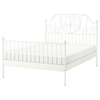 IKEA LEIRVIK Rama łóżka, biały/Luröy, 140x200 cm