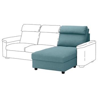 IKEA LIDHULT Sekcja leżanka, Gassebol niebieski/szary