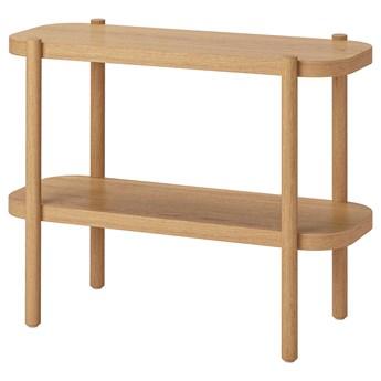 IKEA LISTERBY Ława, Biała bejca dąb, 92x38x71 cm