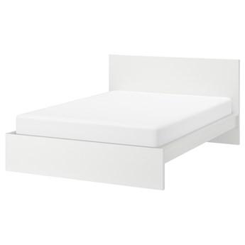 IKEA MALM Rama łóżka, wysoka, Biały, 140x200 cm