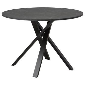 IKEA MARIEDAMM Stół, Czarny imitacja marmuru, 105 cm