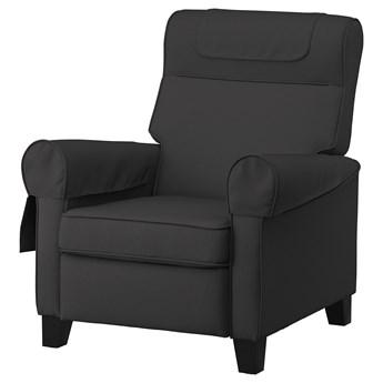 IKEA MUREN Fotel rozkładany, Remmarn ciemnoszary, Szerokość: 85 cm