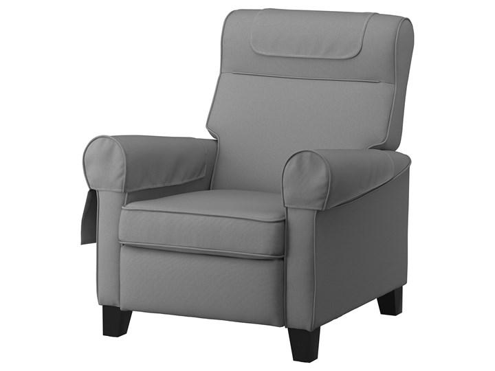 IKEA MUREN Fotel rozkładany, Remmarn jasnoszary, Szerokość: 85 cm