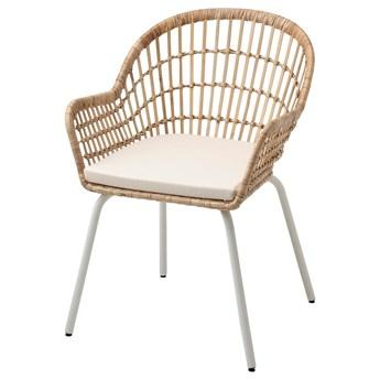 IKEA - NILSOVE / NORNA Krzesło z poduszką