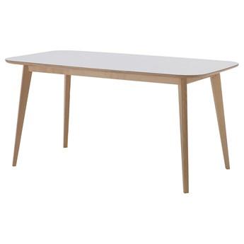 IKEA NORDMYRA Stół, biały/brzoza, 150x85 cm