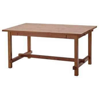 IKEA NORDVIKEN Stół rozkładany, Bejca patynowa, 152/223x95 cm