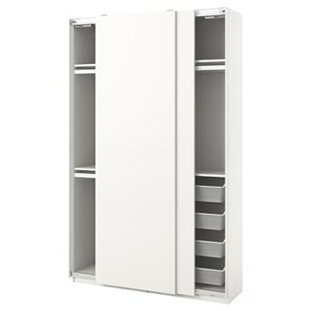 IKEA PAX / HASVIK Kombinacja szafy, biały, 150x44x236 cm