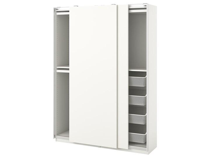 IKEA PAX / HASVIK Kombinacja szafy, biały, 150x44x201 cm