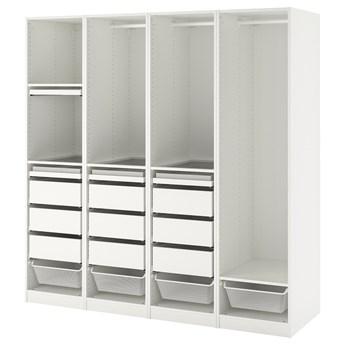 IKEA PAX Kombinacja szafy, biały, 200x58x201 cm