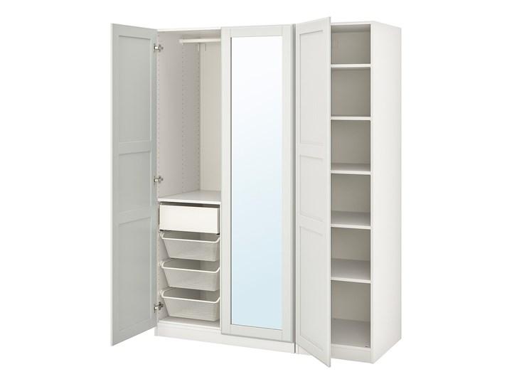 PAX / TYSSEDAL Kombinacja szafy Szerokość 150 cm Rodzaj frontów Mat Głębokość 60 cm Wysokość 201,2 cm Pomieszczenie Sypialnia