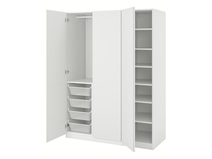 IKEA PAX / VIKANES Kombinacja szafy, biały, 150x60x201 cm