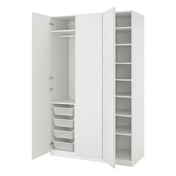 IKEA PAX / VIKANES Kombinacja szafy, biały, 150x60x236 cm