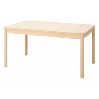 IKEA RÖNNINGE Stół rozkładany, brzoza, 155/210x90x75 cm