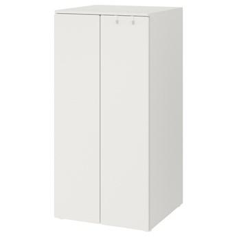 IKEA SMÅSTAD / PLATSA Szafa, Biały/biały, 60x57x123 cm