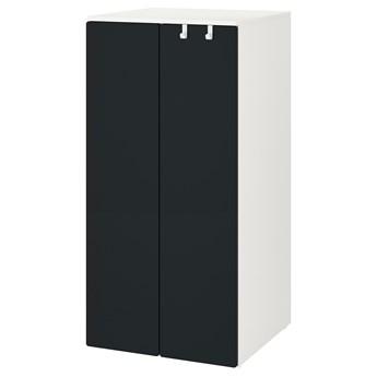 IKEA SMÅSTAD / PLATSA Szafa, Biały/powierzchnia tablicowa, 60x57x123 cm