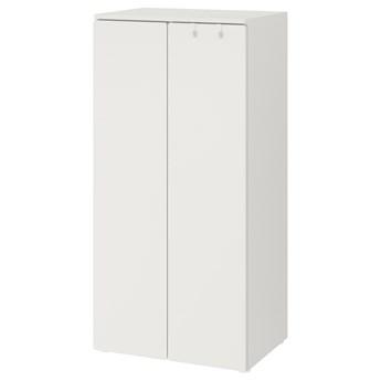 IKEA SMÅSTAD Szafa, Biały/biały, 60x42x123 cm
