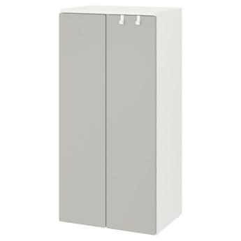 IKEA SMÅSTAD Szafa, Biały/szary, 60x42x123 cm