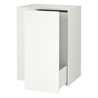 IKEA SMÅSTAD Wysuwany system do przechowywania, biały, 80x57x108 cm