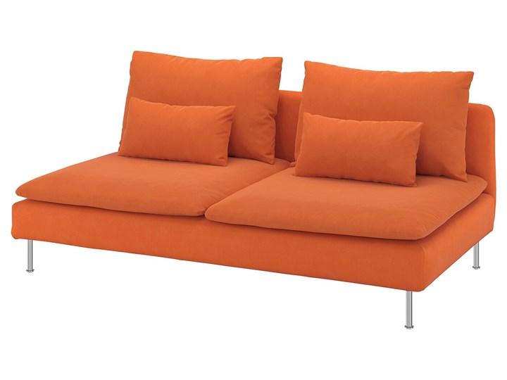 IKEA SÖDERHAMN Sekcja 3-osobowa, Samsta pomarańczowy, Szerokość: 186 cm