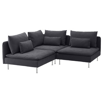 IKEA - SODERHAMN Sofa narożna 3-osobowa