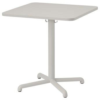 IKEA STENSELE Stół, Jasnoszary/jasnoszary, 70x70 cm